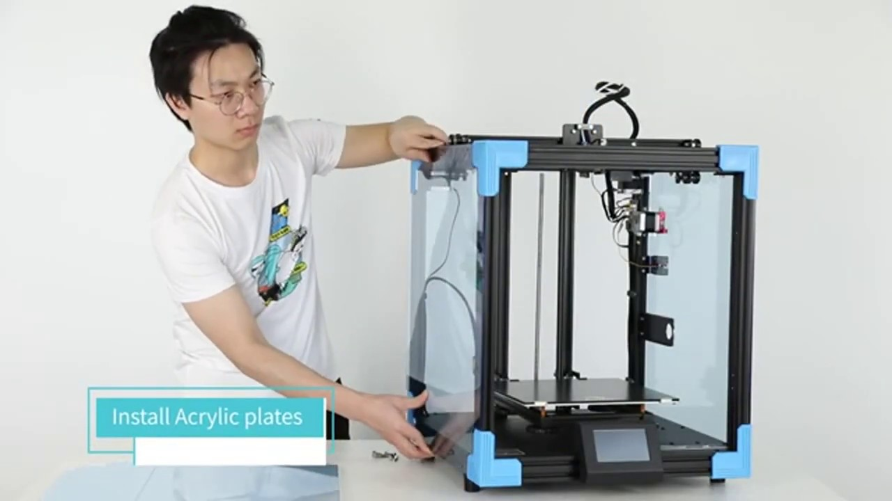 Unboxing And Assembly Creality 3D® Ender-6 Upgraded Cubic Structure 3D Printer Review Price