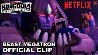 "Netflix's Transformers WFC: Kingdom ""Beast Megatron"" Clip - A Disaster Voice Casting"