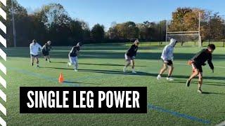 Lacrosse Speed and Agility: Single Leg Power