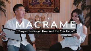 """How Well Do You Know"" Couple Challenge - Nikita Willy and Indra Priawan 
