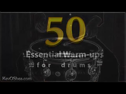 50 Essential Warm-up for Drums | The Four Stroke Ruff