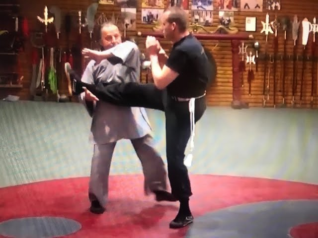 GM W  Toch with 8 basic Baguazhang in deplacement for Wing Chun Live!