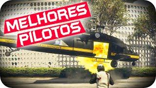 GTA 5 PC Online - OS MELHORES PILOTOS DE HELICÓPTERO TotalArmy