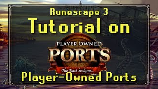 Player-Owned Ports Complete Tutorial | Everything you need to know!
