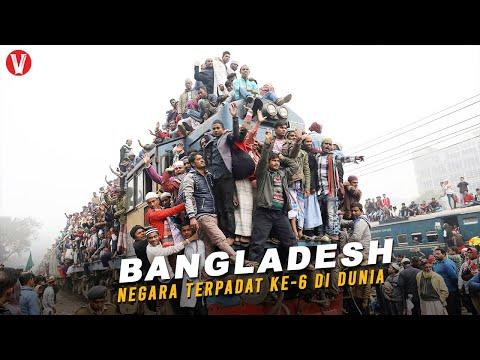 Mengungkap Fakta dan Sejarah Negara Bangladesh, Negara Terpadat Ke-6 di Dunia!