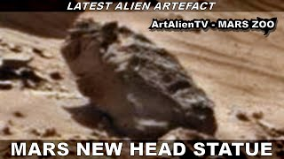 MARS NEW HEAD STATUE (As seen on Ancient Aliens) Valley of the Kings. 1080p