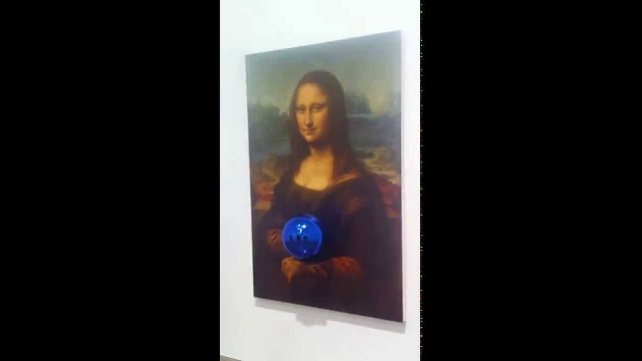 Jeff Koons, Gazing Ball Painting - YouTube