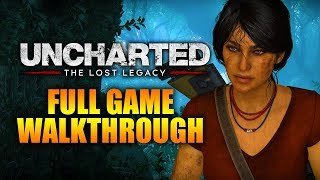 Uncharted: The Lost Legacy Walkthrough - Full Game (Only 1 Part) | PS4 Pro Gameplay