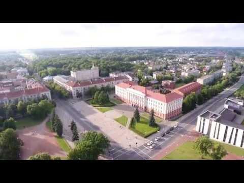 Šiaulių miestas iš oro