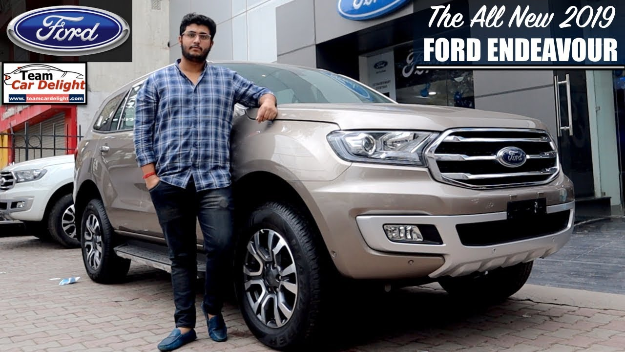 New Ford Endeavour 2019 Titanium Plus Detailed Review With On Road Price Endeavour 2019 Youtube