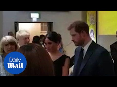 Meghan Markle stuns at Women's Empowerment reception - Daily Mail