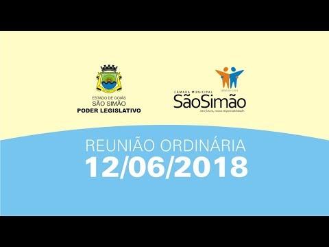 REUNIAO ORDINARIA 12/06/2018