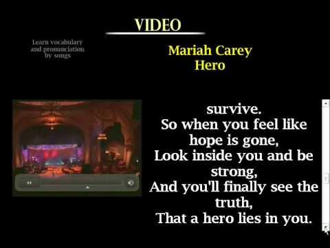 Aprender Inglés Cantando Mariah Carey