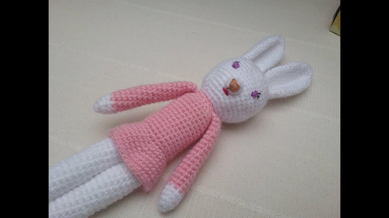 Patron Amigurumi Crochet : lapin réaliste – Made by Amy | 720x1280