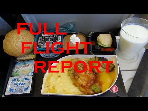 Turkish Airlines B737 - Istanbul (SAW) to Brussels (BRU) FULL FLIGHT