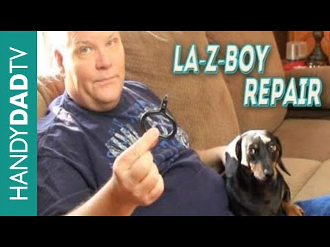 La Z Boy Couch Recliner Repair Free Youtube