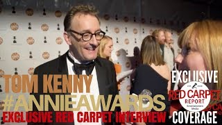 Tom Kenny, Spongebob Squarepants interviewed at the 45th Annual Annie Awards #ANNIEAwards