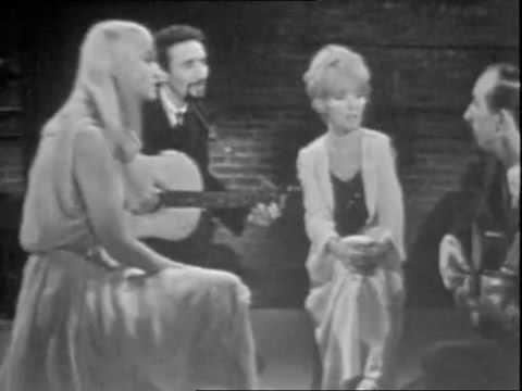 Peter, Paul and Mary & Petula Clark - Cache Cache It's raining (live in France, 1965)