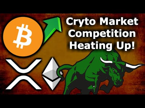 BITCOIN & CRYPTO MARKET COMPETITION HEATS UP - Anchorage, Silvergate, Bitstamp, & Blade