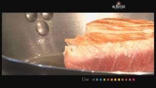 Подготовка и уход - стальные сковороды de Buyer