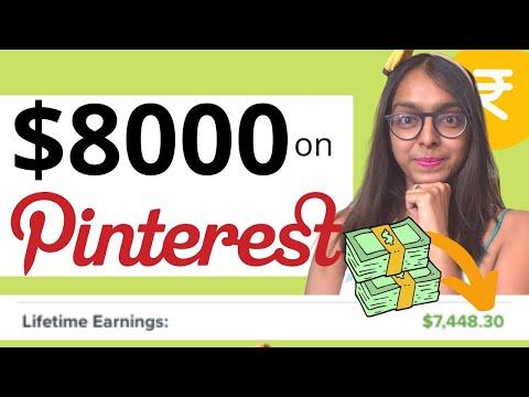 HOW TO MAKE MONEY ON PINTEREST 2020   AFFILIATE MARKETING