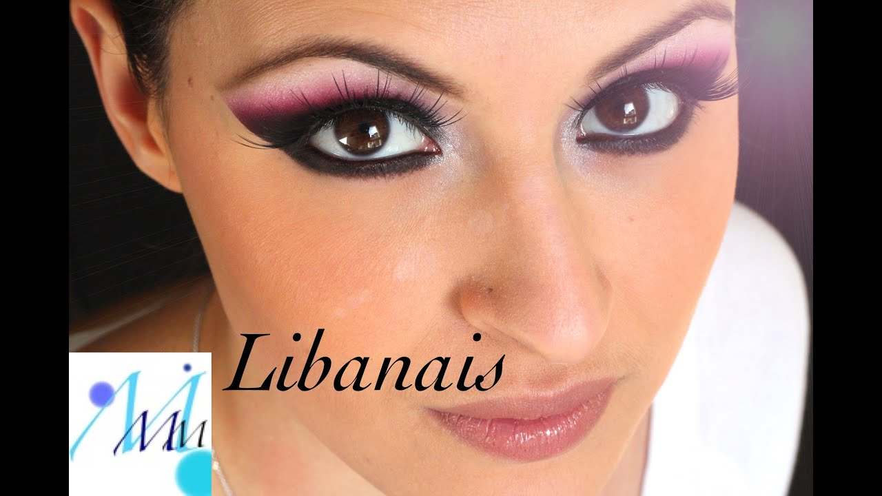 Maquillage coloré  Maquillage Libanais