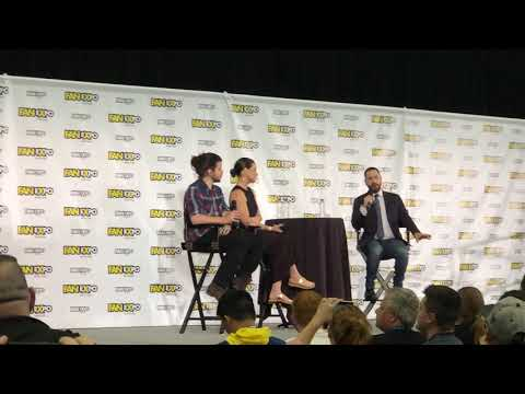 Evangeline Lilly at Fan Expo 2018