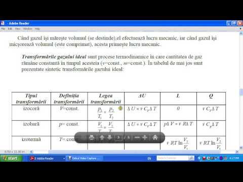 Aplicatii ale principiului I al termodinamicii la gazul ideal