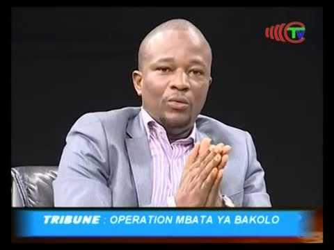 TRIBUNE : OPERATION MBATA YA BAKOLO / TÉLÉ CONGO 1/3