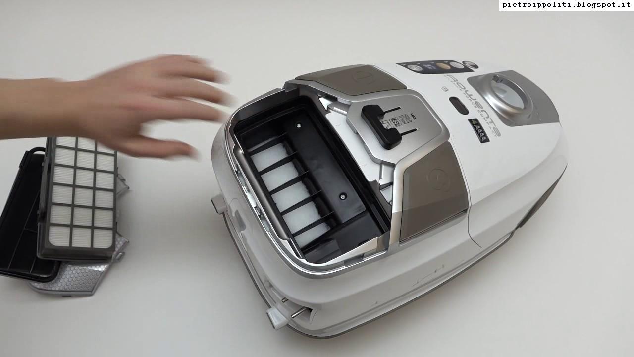 rowenta silence force 4a compact aspirapolvere sostituzione filtri youtube. Black Bedroom Furniture Sets. Home Design Ideas