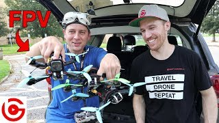 How to Fly FPV DRONES with ED RICKER