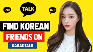 How to Find Korean Friends on Kakaotalk screenshot 4