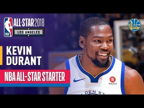 Kevin Durant 2018 All-Star Starter | Best Highlights 2017-2018