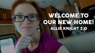 Welcome to Our New Home!  Allie Knight 2.0