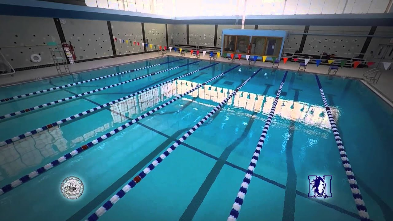 Medford High School Newly Renovated Swimming Pool Youtube