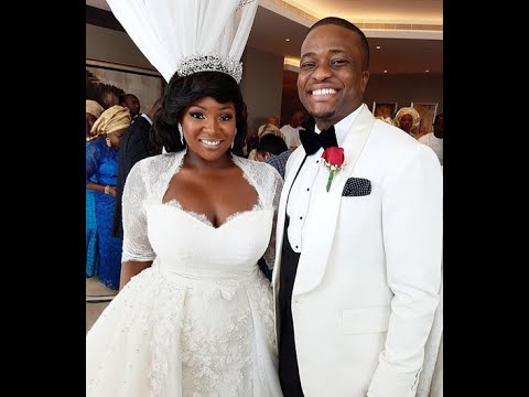 Toolz & Tunde Official White Wedding In Dubai