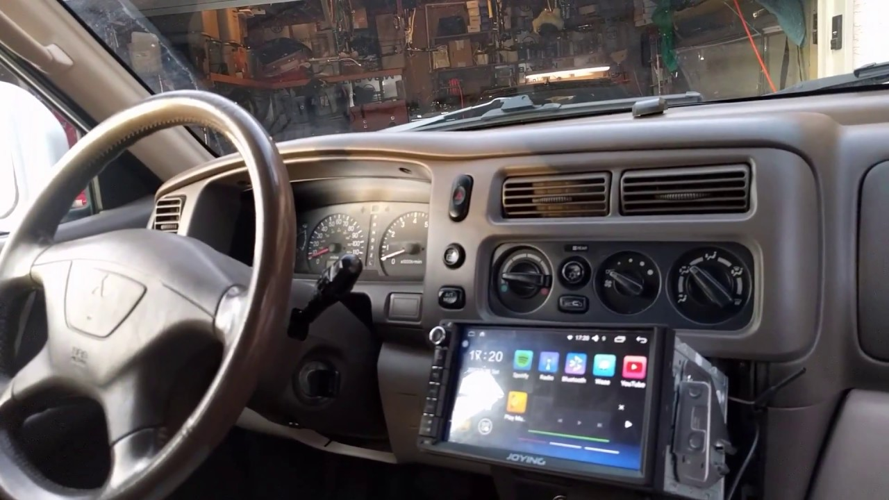 android double din audio deck android in 2000 mitsubishi montero sport with infinity audio  [ 1280 x 720 Pixel ]