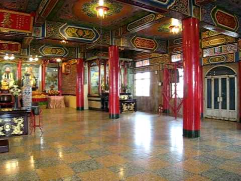 Inside Ba Gua Temple, Taiwan, Nov 2009