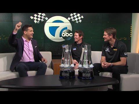 Scott Dixon and Ryan Hunter-Reay recap Detroit Grand Prix wins