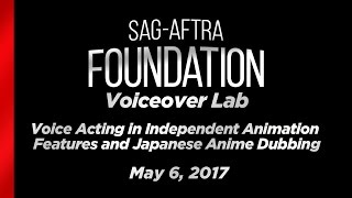 Voice Acting in Independent Animation Features and Japanese Anime Dubbing