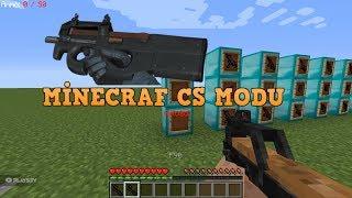 OHA EFSANE MOD !! Minecraft Silah MODU (CS Silahları)