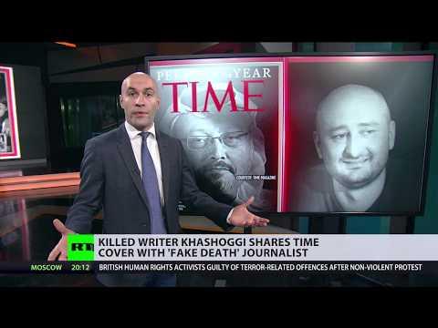 Killed writer Khashoggi shares Time cover with 'fake death' journalist