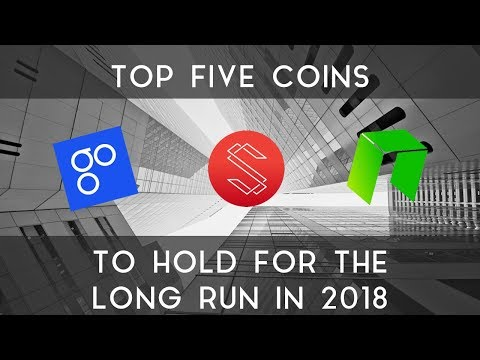 Top 5 Cryptocurrencies for 2018 | Part 1