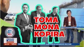 Toma Mona kopira Vučića + behind the scenes