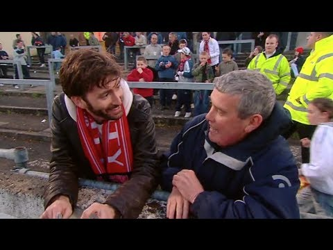 David Tennant Visits Derry City Football Club - Who Do You Think You Are?