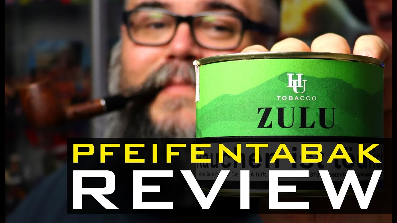 Pfeifentabak Review 🍂 - HU TOBACCO - ZULU (🇬🇧 Subtitles)