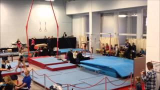 Molly Simpson - Mickleover Gymnastics - Championships 2012