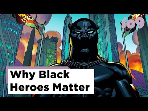 #BlackHeroesMatter: Black Superheroes in Comics