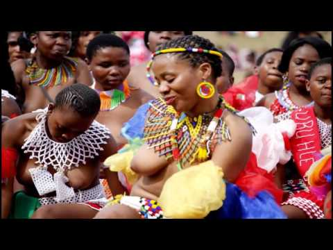 Virginity Test Dance: South Africa Zulu Tribe   Festival