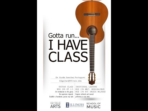 Guitar Classes at UIUC
